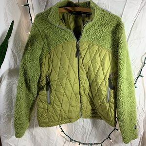 Women's Patagonia down zip up fleece